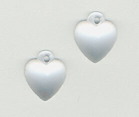 Mill Hill 12074 Very Small Domed Heart - Matte Crystal