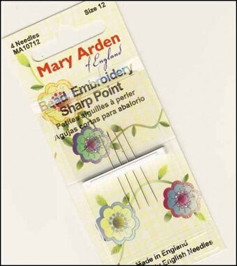 Mary Arden Sharp Beading Needles Size 10