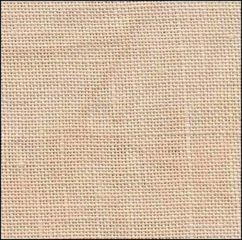 36 Count Cream Brulee Linen 27x34