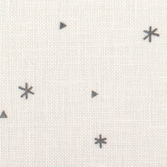 32 Count Sparkle White/Grey Belfast Linen Fabric 9x13