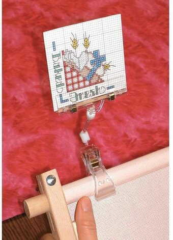 Yarn Tree Graph Gripper Pattern Holder