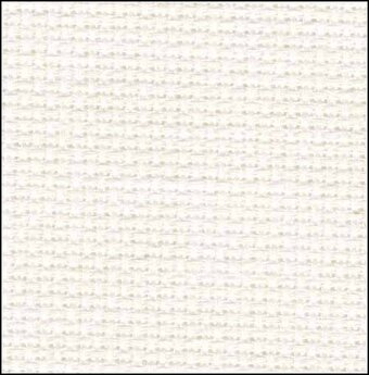 14 Count Salt Carolina Linen Fabric 15x18