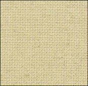 25 Count Oatmeal Evenweave Fabric 35x36