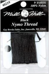 Nymo Beading Thread 100% Nylon, Black