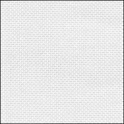 32 Count White Evenweave Fabric 18x35