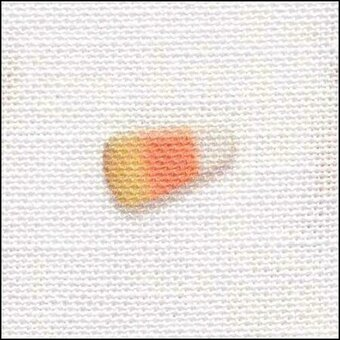 28 Count Candy Corn Galore Linen Fabric 8x17