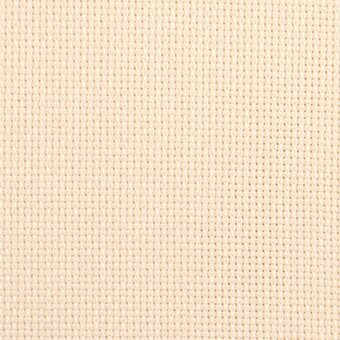 18 Count Ivory Aida Fabric 10x18