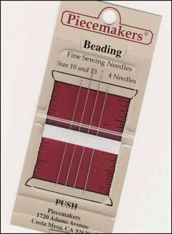 Piecemakers Beading Needles Size 10/13