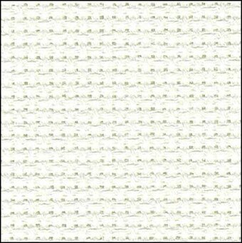 "14 Count Antique White Aida Fabric 15""x18"""