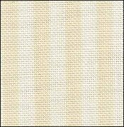 32 Count Parisian Neutral Stripe Linen 9x17