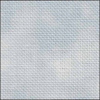 28 Count Stormy Sea Linen Fabric 19X35