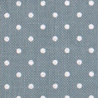 32 Count Petit Point Blue/White Belfast Linen Fabric 18x27