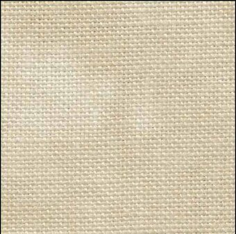 32 Count Iced Coffee Linen 19x35