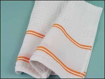Nancy Kitchen Towel - Orange