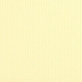 14 Count Lemon Chiffon Aida Fabric 21x36