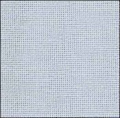 28 Count Ice Blue Lugana Fabric 18x27