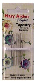 Mary Arden Tapestry Needles Size 28