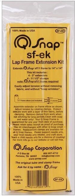 Small Qsnap Extension Frame