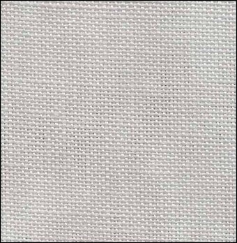 32 Count Serenity Harbor Gray Linen 19x35