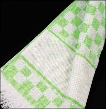 Verona Kitchen Towel - Green/White Checked