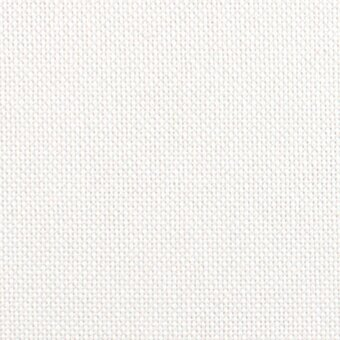 25 Count White Lugana Fabric 13x18