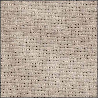 14 Count Nut Aida Fabric 35x39