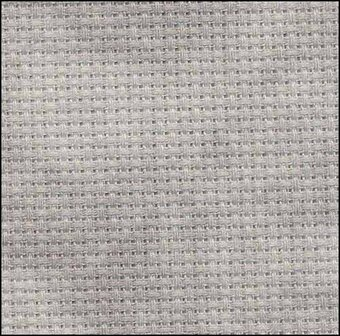 14 Count Tarnished Aida Fabric 19x36