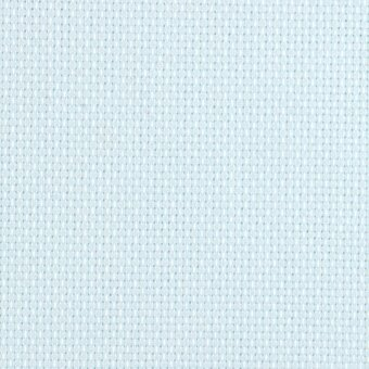 14 Count Ice Blue Aida Fabric 21x36