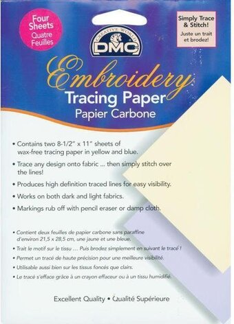 DMC Embroidery Tracing Paper