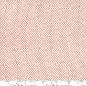 Reproduction Flower Dot Natural Fabric - Fat Quarter