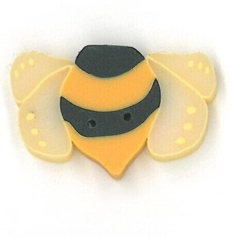 Medium Bumble Bee - Button