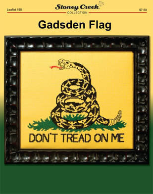 Gadsden Flag - Cross Stitch Pattern