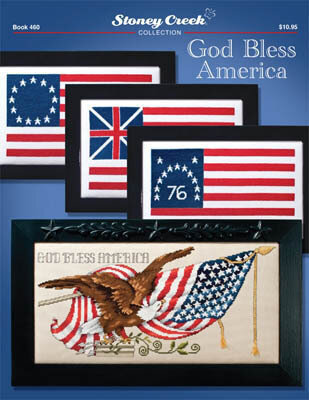 God Bless America - Cross Stitch Pattern
