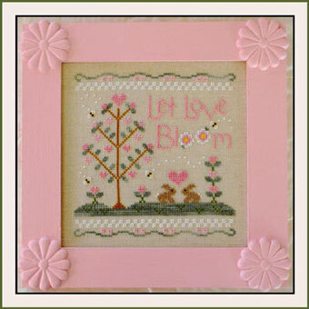 Let Love Bloom - Cross Stitch Pattern