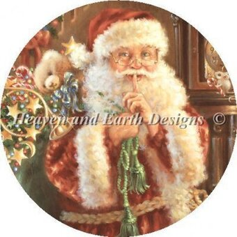 Ornament Not A Creature Was Stirring - Cross Stitch Pattern
