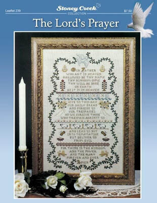 Lord's Prayer, The - Cross Stitch Pattern