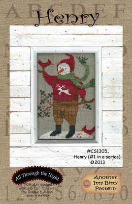 Henry - Cross Stitch Pattern