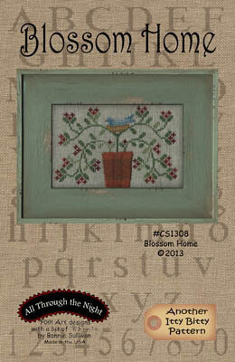 Blossom Home - Cross Stitch Pattern