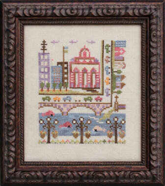 Troubled Water - Cross Stitch Pattern
