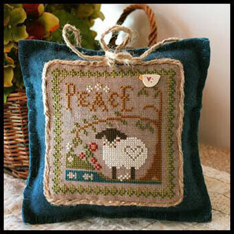 Little Sheep Virtues 3 - Peace - Cross Stitch Pattern