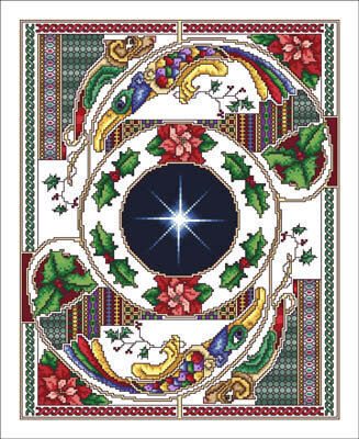 Celtic Christmas - Cross Stitch Pattern