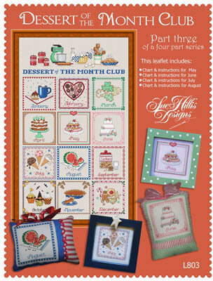Dessert of the Month - Part 3 - Cross Stitch Pattern