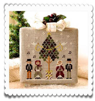 Hometown Holiday - Caroling Quartet - Cross Stitch Pattern