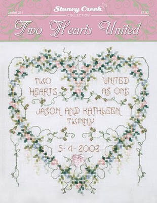 Two Hearts United - Cross Stitch Pattern