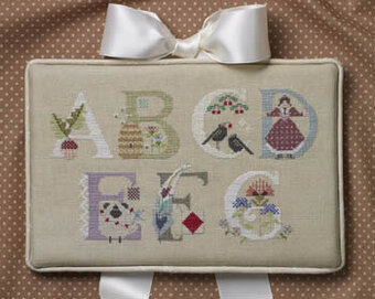 Letters Part 1 - Cross Stitch Pattern