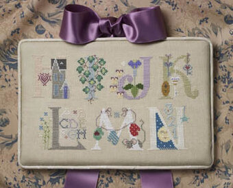 Letters Part 2 - Cross Stitch Pattern