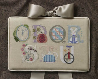 Letters Part 3 - Cross Stitch Pattern