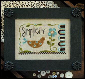 Simplicity - Cross Stitch Pattern
