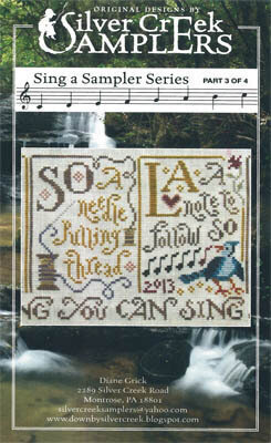 Sing a Sampler 3 - Cross Stitch Pattern