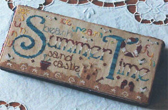 Summer Time - Cross Stitch Pattern